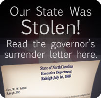 Our state was stolen! Read the governor's surrender letter here.